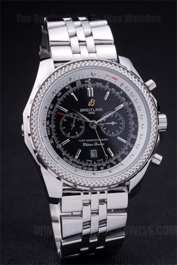 Breitling Bentley 75% Off Men's Sapphire Crystal Replica Watches Br3579