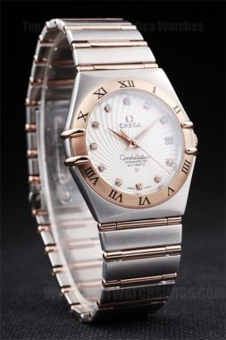 Omega Constellation 90% Off Men's Sapphire Crystal Replica Watches Om4490