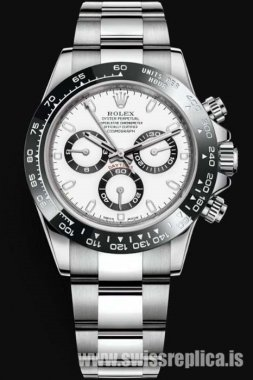 Rolex Daytona 116500LN-78590 White Dial Machine Chronograph