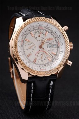 Breitling Bentley Luxury Men's 18K yellow gold Replica Watches Br3576