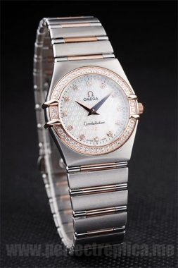 Omega Constellation High Quality Battery 26*25MM Replica Watches 4466