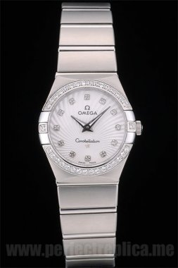 Omega Constellation Top Seller Battery 30*27MM Replica Watches 4000
