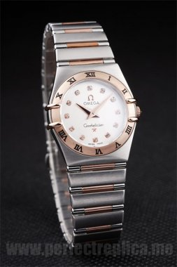 Omega Constellation Top Quality Battery 26*25MM Replica Watches 4480