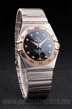 Omega Constellation Quality Battery 37*34MM Replica Watches 4488
