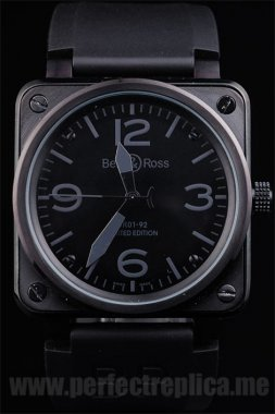 Bell & Ross Carbon Top Quality Automatic 45*47MM Replica Watches 3456