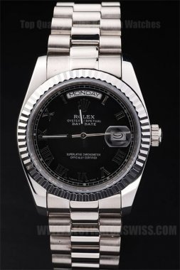 Rolex Daydate Low Prices Men's Sapphire Crystal Replica Watches R4810