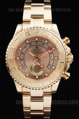 Rolex Yachtmaster II Great Men's Sapphire Crystal Replica Watches R236
