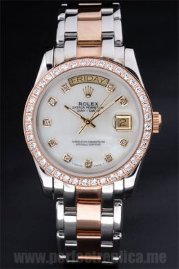 Rolex Daydate Best Choice 18k rose gold 47*40MM Replica Watches 4814