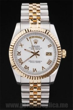 Rolex Daydate Great Sapphire Crystal 44*36MM Replica Watches 4808