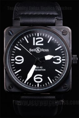 Bell & Ross Carbon 70% Off Men's Sapphire Crystal Replica Watches Be3459