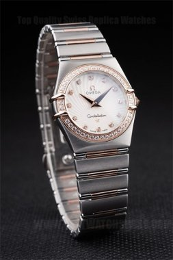 Omega Constellation Best Value Ladies' Stainless Steel Replica Watches Om4470