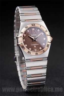 Omega Constellation Fast Shipping Battery 26*25MM Replica Watches 4476