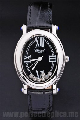 Chopard Perfect gift Black 42*30MM Replica Watches 3902