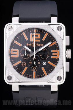 Bell & Ross Carbon discount price Battery 50*44MM Replica Watches 3433