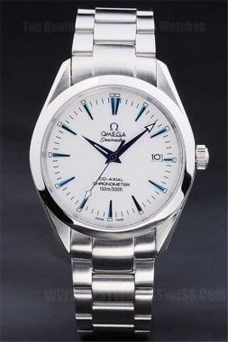 Omega Seamaster 70% Off Men's Stainless Steel Replica Watches Om4453