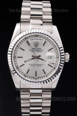 Rolex Daydate Greatest Men's Stainless steel Replica Watches R4809