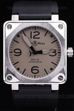 Bell & Ross Carbon Luxury Men's Sapphire Crystal Replica Watches Be3448