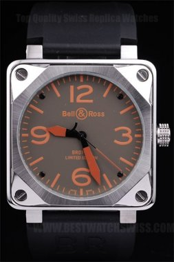 Bell & Ross Carbon 80% Off Men's Stainless Steel Replica Watches Be3450