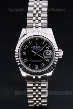 Rolex Datejust 75% Off Ladies' Automatic Replica Watches R4748