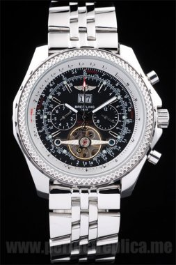 Breitling Bentley Quality Stainless Steel 53*47MM Replica Watches 3591