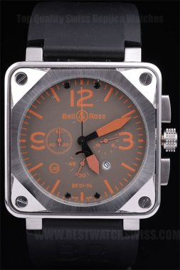 Bell & Ross Br-01-94 Cheapest Men's Stainless Steel Replica Watches Be3461