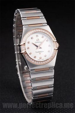 Omega Constellation low prices Battery 26*25MM Replica Watches 4472