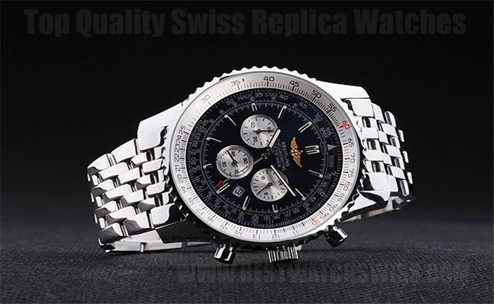 Breitling Navitimer AAA+ Men's Stainless Steel Replica Watches Br3491