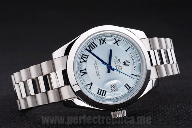 Rolex Daydate Offer Stainless Steel 48*42MM Replica Watches 4821