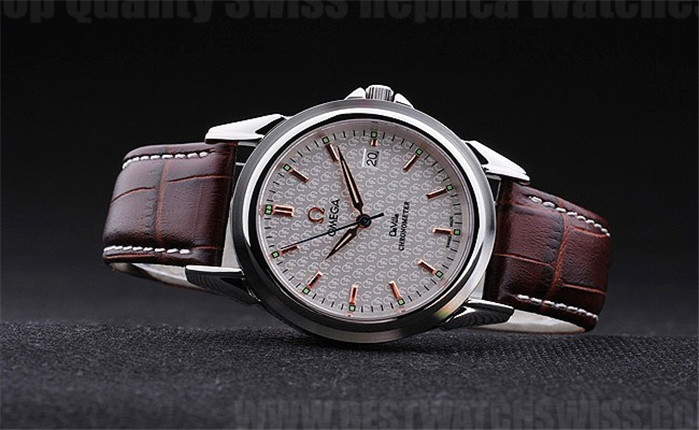 Omega Deville Low Prices Men's Stainless Steel Replica Watches Om4399