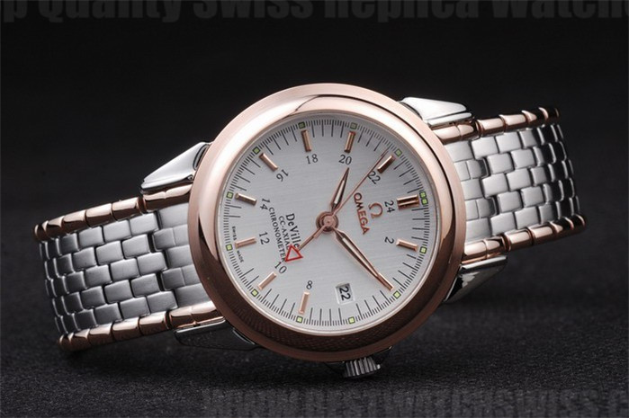 Omega Deville High Technology Men's Automatic Replica Watches Om4414