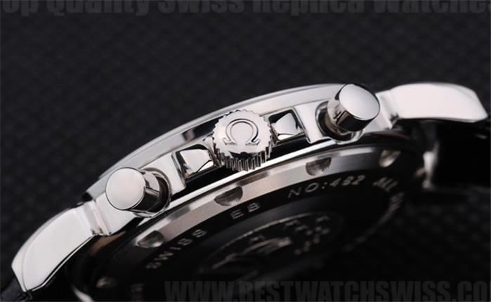 Omega Deville Great Men's Sapphire Crystal Replica Watches Om4397