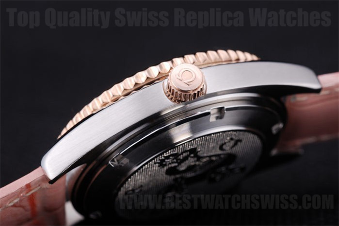 Omega Seamaster Good Ladies' Sapphire Crystal Replica Watches Om4424