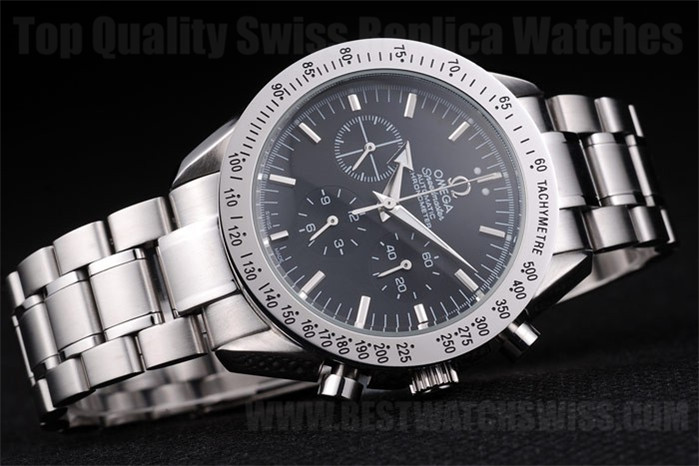 Omega Speedmaster Great Men's Sapphire Crystal Replica Watches Om4504
