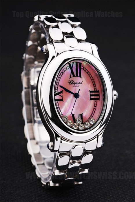 Chopard High Technology Ladies' Stainless Steel Replica Watches Ch3898