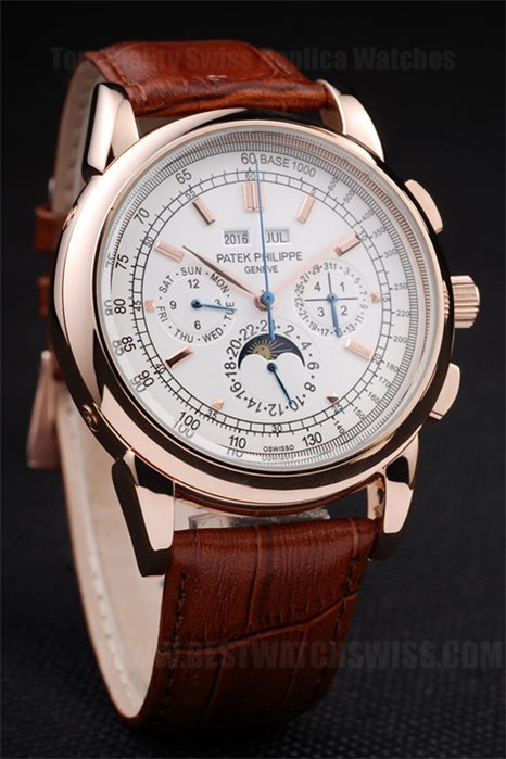 Patek Philippe Complicated High Technology Men's 18k rose gold Replica Watches PP4614