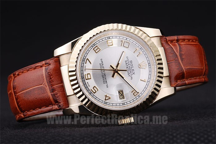 Rolex Datejust Quality Men's sapphire crystal Replica Watches R4754