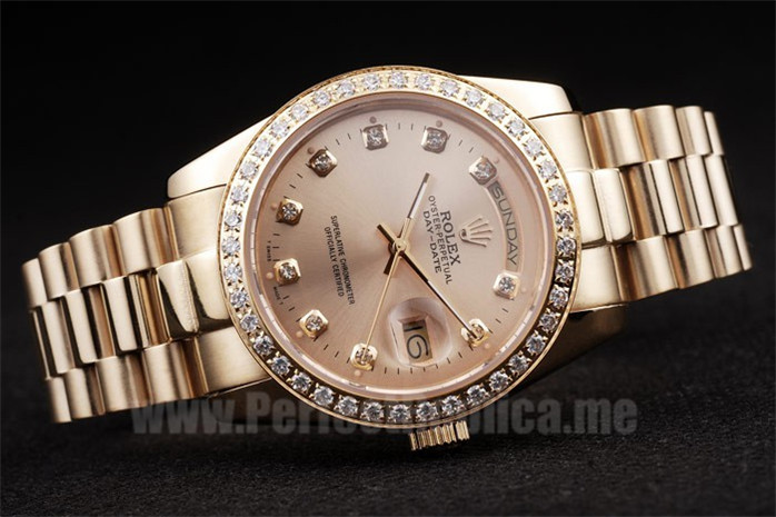 Rolex Daydate Discount Price Men's sapphire crystal Replica Watches R4795