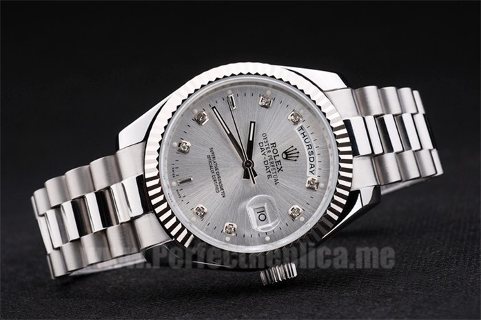 Rolex Daydate Best Value Men's Stainless Steel Replica Watches R4826