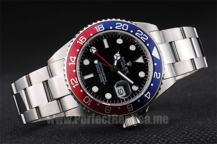 Rolex GMT Master Greatest Men's Sapphire Crystal Replica Watches R158