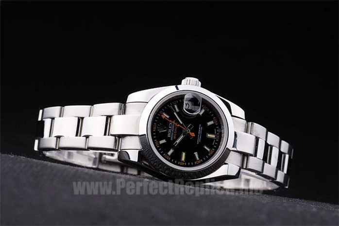 Rolex Milgaus Discount Price Ladies' Sapphire Crystal Replica Watches R82