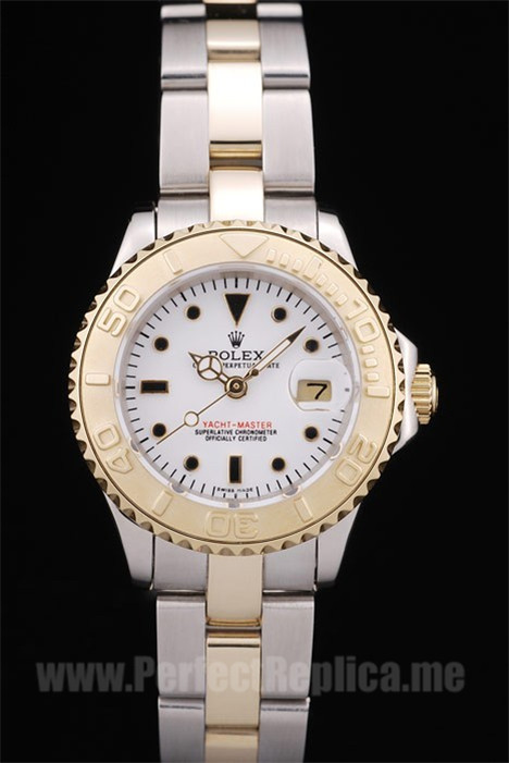 Rolex Yachtmaster II Highest Quality Ladies' Sapphire Crystal Replica Watches R120