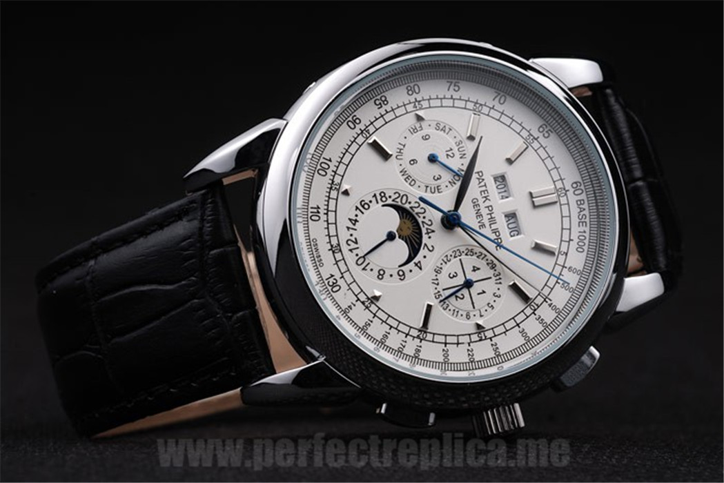 Patek Philippe Complicated Cheap Price Automatic 53*42MM Replica Watches 4609