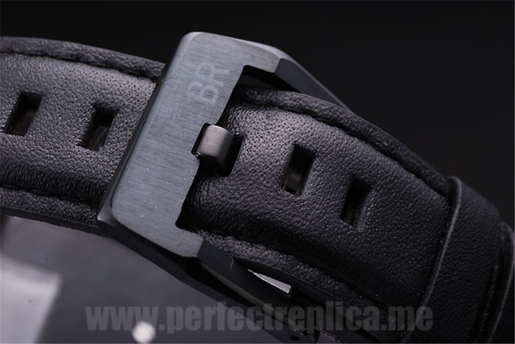 Bell & Ross Carbon Well-Known Automatic 45*47MM Replica Watches 3459