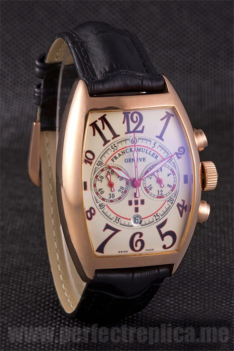 Franck Muller Casablanca Most popular Battery 49*42MM Replica Watches 80101